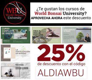 Descuento World Bonsai University (WBU)