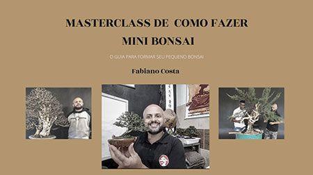 Curso World Bonsái Universitu(WBU): como fazer mini bonsai