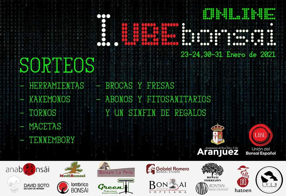 Sorteo Primera Convención UBE Bonsai Virtual